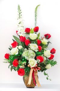 photodune 3732359 bouquet of red and white roses xs