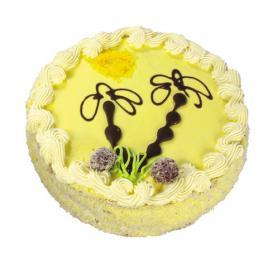 Vanilla sponge with fresh fruit