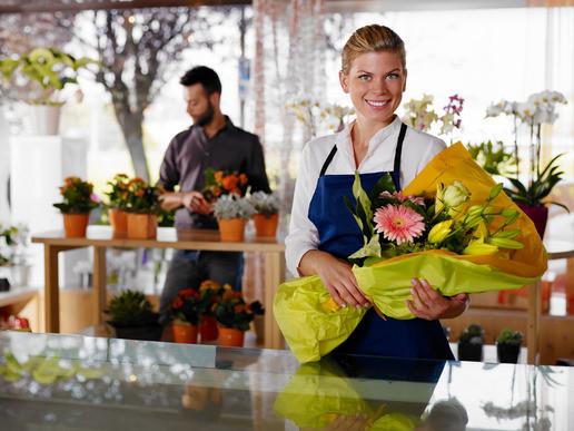 Flower Shopping St. Petersburg